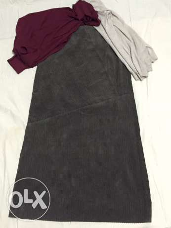 Olive skirt from JP collection