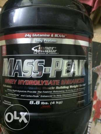 Pure whey 2 kilo - Mass peak 4 kilo