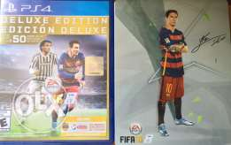 Fifa 16 deluxe edition + steel book for sale