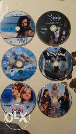 Original DVDS from USA without cases
