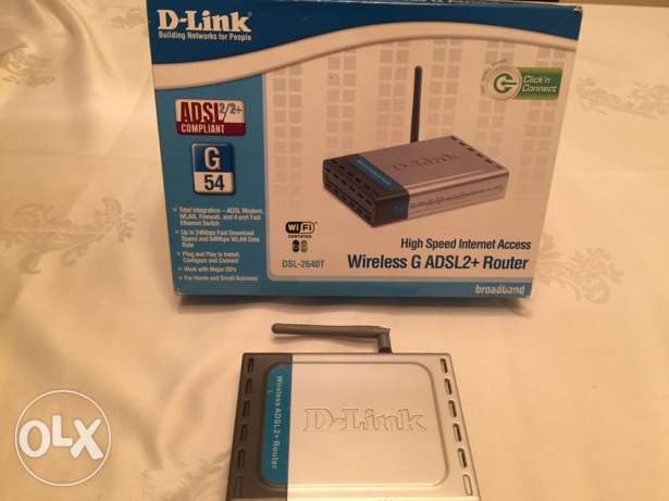 D-LINK High speed internet access wireless G ADSL2+router