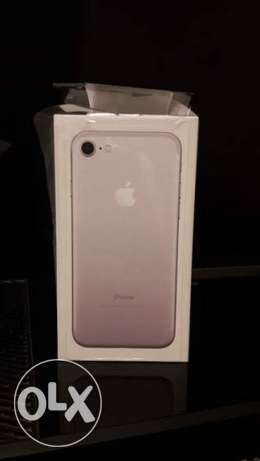 Iphone 7 128gb silver, with facetime