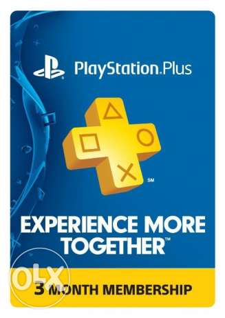 "PS PLUS 3 month membership ""Playstation Plus"""
