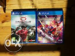 2 ps4 games not played
