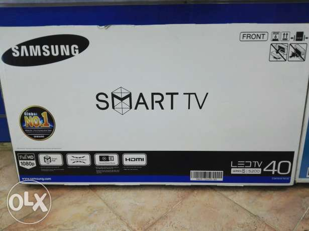 Samsung 40 smart tv New