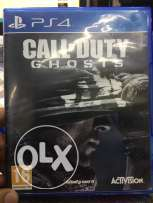"PS 4 Call of duty ""Ghosts"""