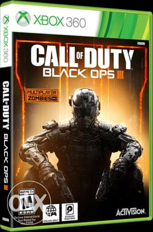 Call of Duty Black Ops 3 Xbox 360 (pal
