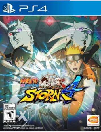 Naruto ultimate Ninja Storm 4 for sell