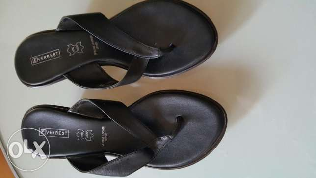 New black sandals from UK
