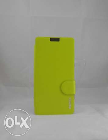 New Remax Sony Z1 Fashion Cover-Green - جديد جراب ريماكس زد 1 -اخضر