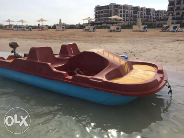 In Hurghada for sale catamaran, second hand, made in Germany, 3,5 CC الغردقة -  2