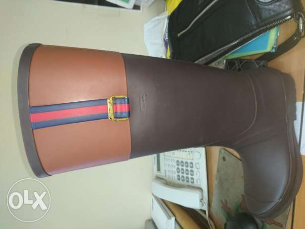 Tommy hilfiger boots size 40 brown