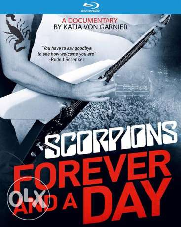 SCORPIONS - Forever and a Day - Blu-ray 6 أكتوبر -  1