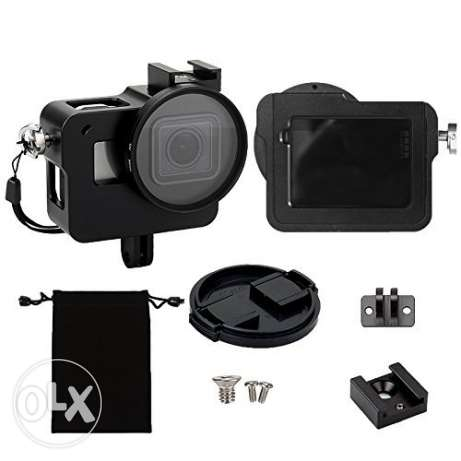 Alluminum Frame With Back Door For GoPro Hero 5