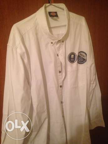 dickies white shirt anti wrinkle straight from the USA size 3x