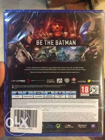 new sealed batman arkham khnight for sale ps4 مدينة نصر -  1