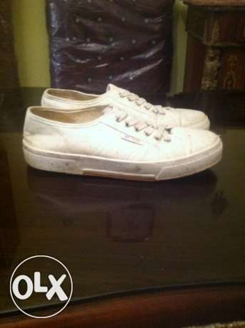 White Shoes made in Italy!! Original Size 42