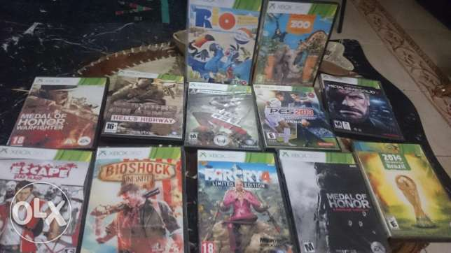 12 Games for xbox 360 high copy