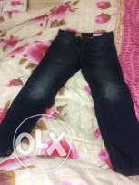 new jeans Esprit size 31 coupe tapered UK بنطلون جينز اسبريت
