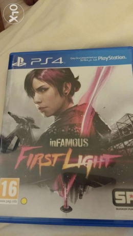 PS4 inFAMOUS the First Light