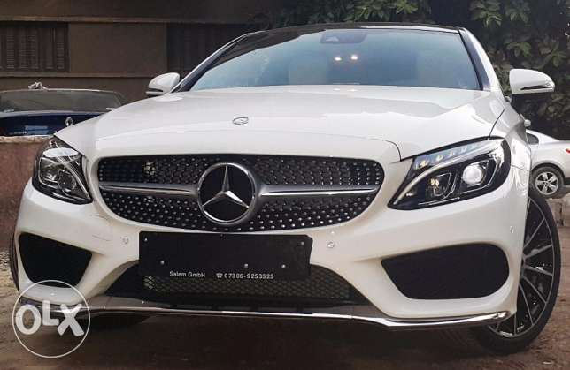 مرسيدس c180 كوبيه 2017 اسبيشيال اوردر Mercedes c180 coupe الوحيدة