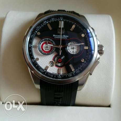 Tag Heuer Mercedes White Black