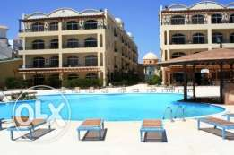 Palm beach piazza Sahl hasheesh 1bd compound with private beach
