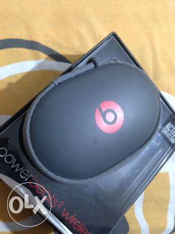 beats powerbeats wirless headphone original used like new سماعه