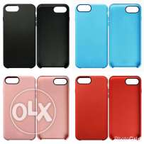 iPhone 7 Plus Silicone Leather TPU Back Cover جراب ايفون ٧ بلس