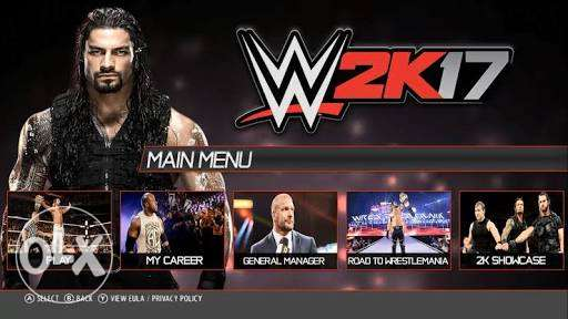 Wwe17 and pes17 digital PS4 6 أكتوبر -  7