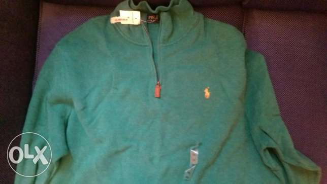 ralph lauren, Half-zip sweater