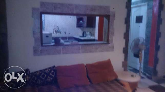 furnished flat near beverl hills sheikh zayed الشيخ زايد -  1