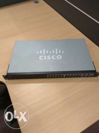 Cisco SF300-24 Managed Switch