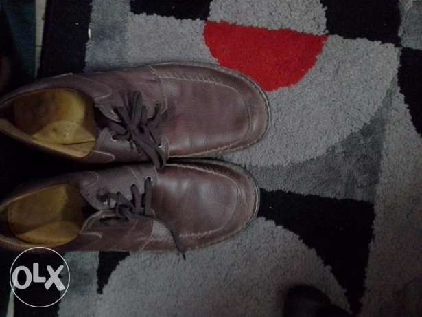 Brown Shoes Size 45