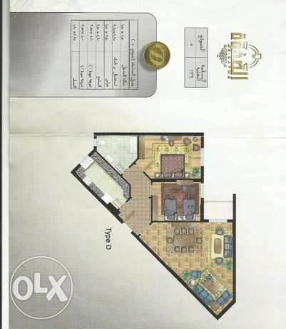apartement for sale in compound (elsafwa)