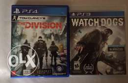 The divison for ps4+ watch dogs 1 for ps3 special offer