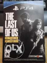 The Last of Us Remastered PS4 Serial Number , serial number coupon .