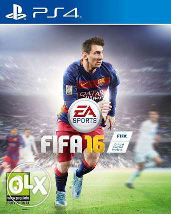CD Fifa 16 Arabic edition Ps4 like new
