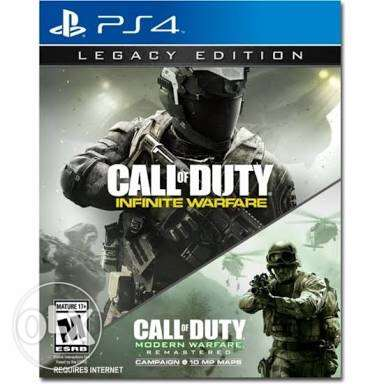 call of duty infinite warfare ps4 (used codes)