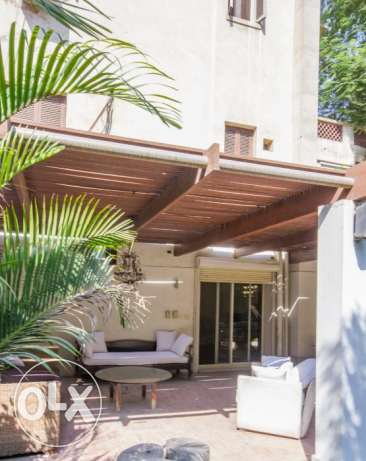 Fully-furnished villa located in Maadi for rent.
