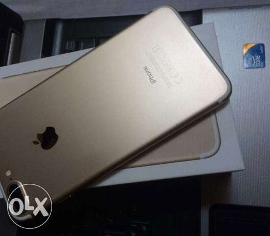 Iphone 7plus 256Giga Gold international with Box