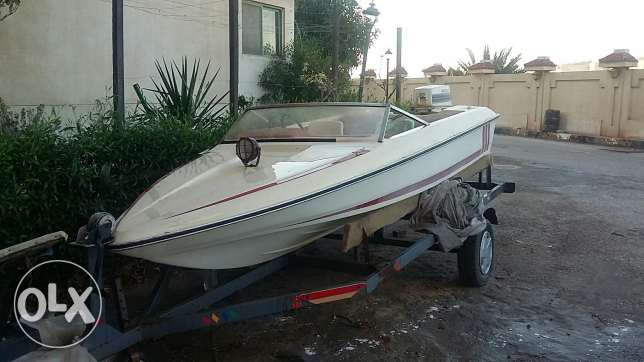 Fletcher Arrowflyte 14GTO speed boat