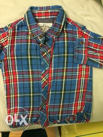 next chemise for baby boy up to 6 months used 1 time الشيخ زايد -  1
