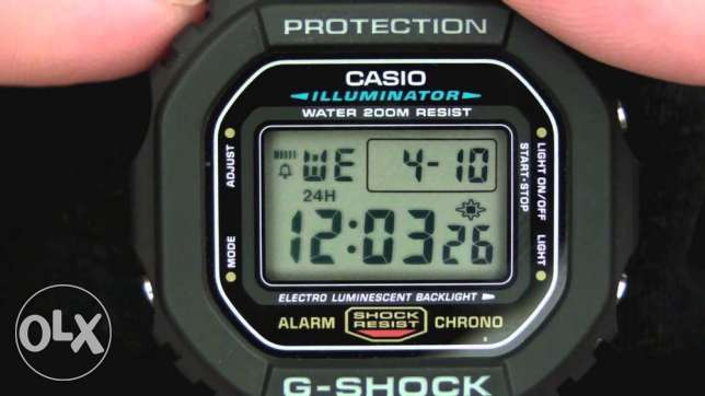 Casio DW-5600E-1VDF G-Shock Rare Watch New وسط القاهرة -  2
