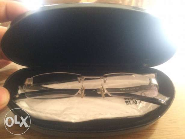 mont blanc original glasses frameless
