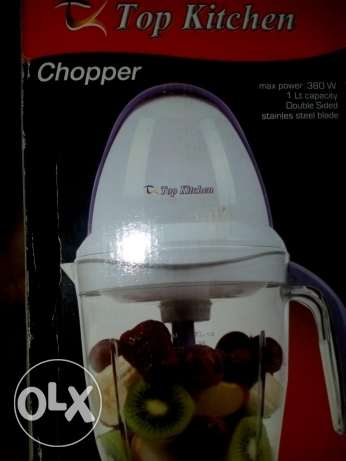 كبة. Max power 380w. 1Lt capacity. Double sided. Stainless steel