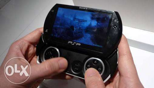 Psp go with 20games