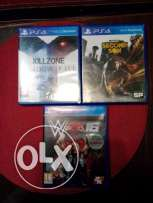 wwe 2k16 .infamous second son kill zone shadow fall ps4