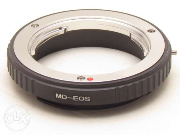 Minolta MD MC Lens to Canon EOS EF Adapter