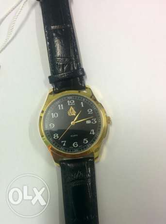 Gold plated watch for him